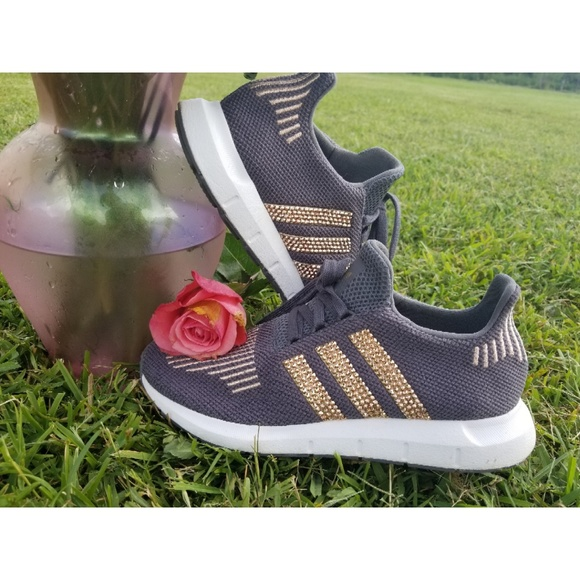 635d036a adidas Shoes | Women Rose Gold With Swarovski Crystals | Poshmark